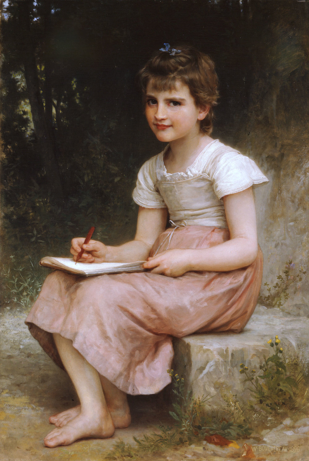 - William-Adolphe Bouguereau (1825-1905) - A Calling (1896)