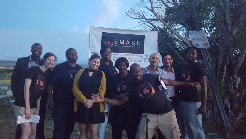 BREAKING NEWS: - SMASH Has Site Control for Community Land Trust!