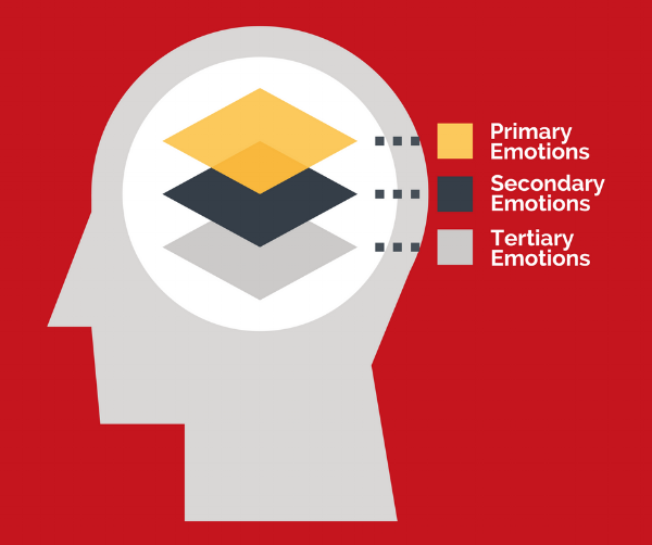 primary emotions and secondary emotions
