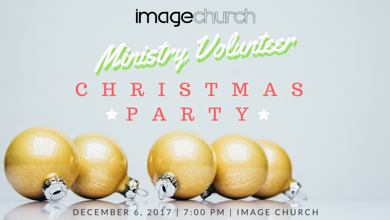 Ministry Volunteer Christmas Party — Image Church | Woodbridge, VA