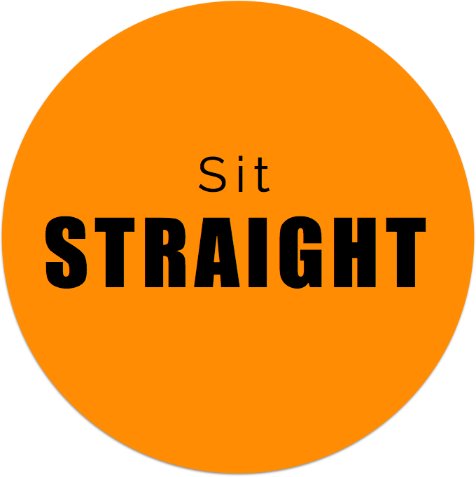 Sit Straight - Office Ergonomics