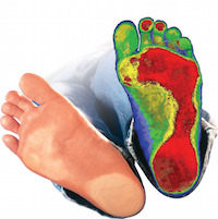 A 3D foot scan will tell you exactly what you are standing on and what your body thinks of it.