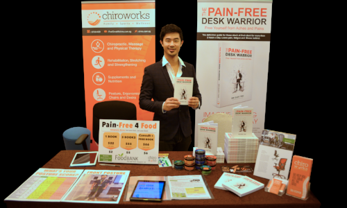 pain relief book chiropractor dr gary tho