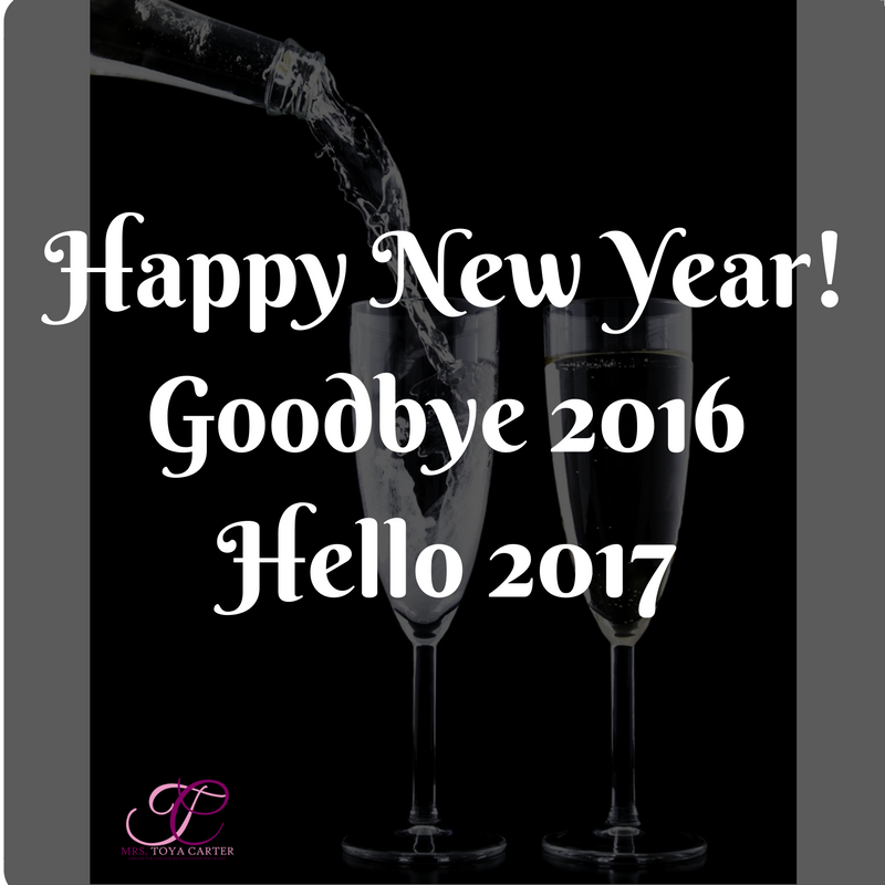 Happy New Year Mrs. Toya Carter