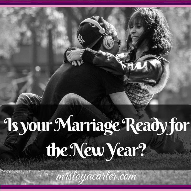 marriage and the new year