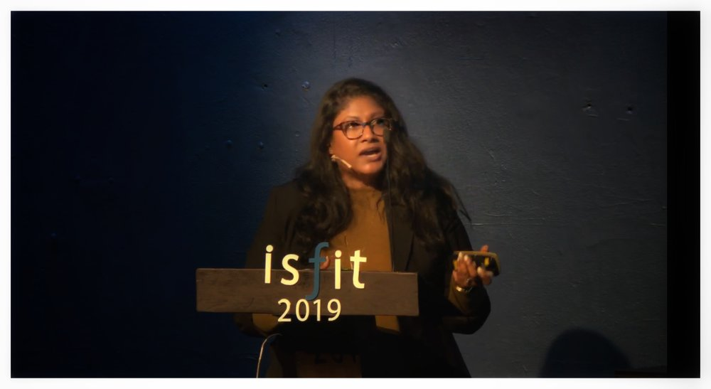 CLIMATE REFUGEES speaks at ISFIT19 Plenary, Climate Migration: Disasters, Displacement and Disappearing Countries - Trondheim, Norway, February 10, 2019