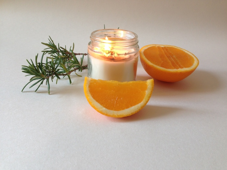 DIRT Soy Candle Scent Number 36 Rosemary and Orange 120ML — The ...