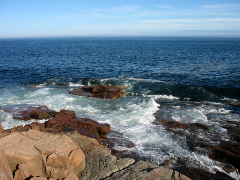 Thunder Hole Coastline