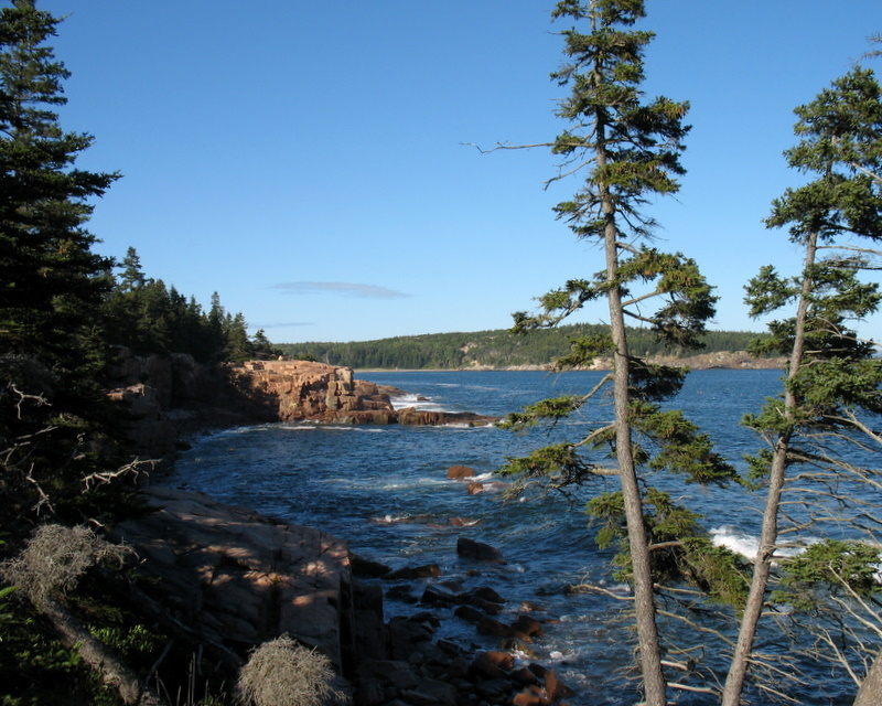 Looking Towards Sand Beach from Thunder Hole