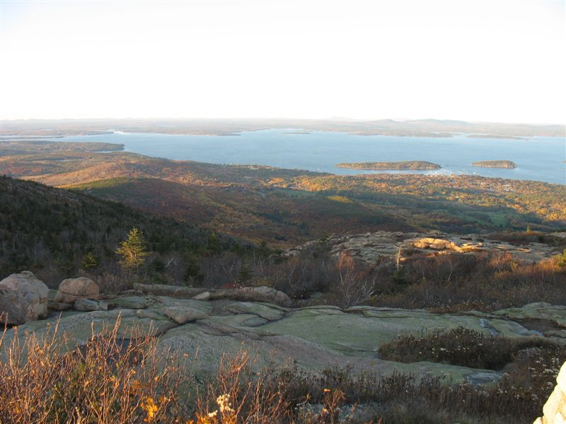 Frenchmen's Bay from Cadillac Mountain