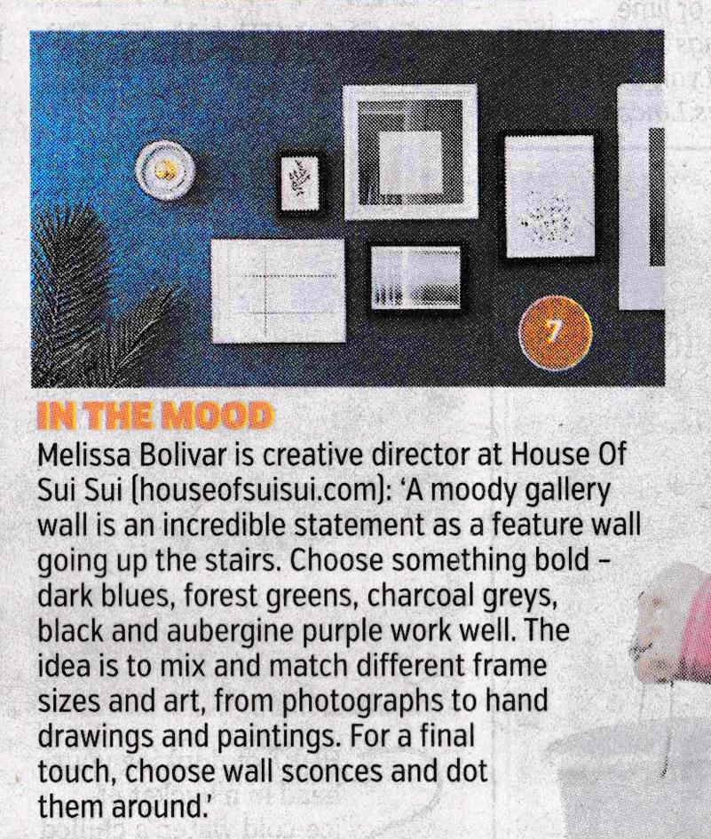 The Metro Home House of Sui Sui Melissa Bolivar Interior Designer London