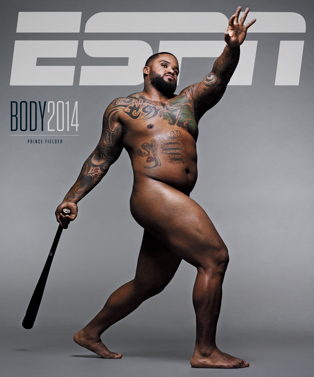 Prince Fielder Body Issue cover