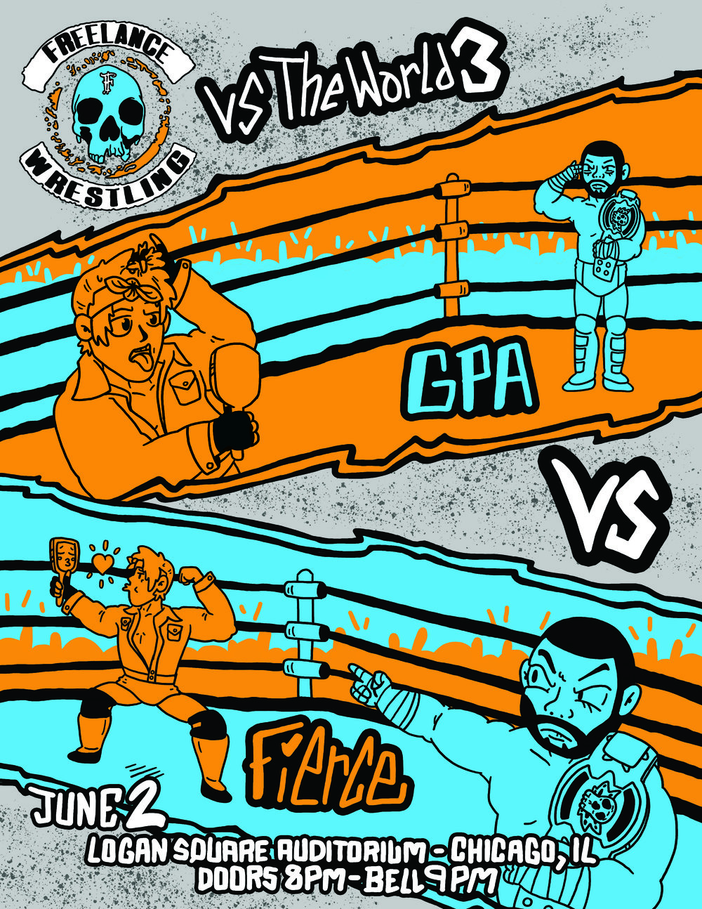 Freelance Wrestling vs the World 3 Championship Poster.jpg