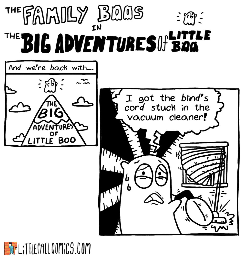 The Big Adventures of Little Boo