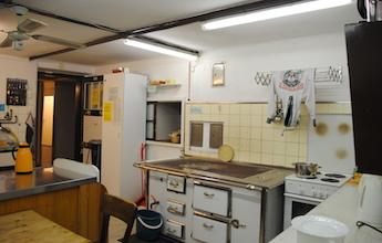 Ausstattung – Räume, Küche
