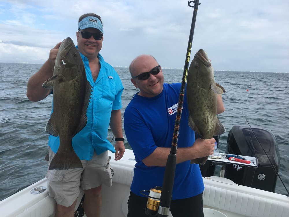 Gag Grouper-Fishing-Nearshore-Reef Fishing