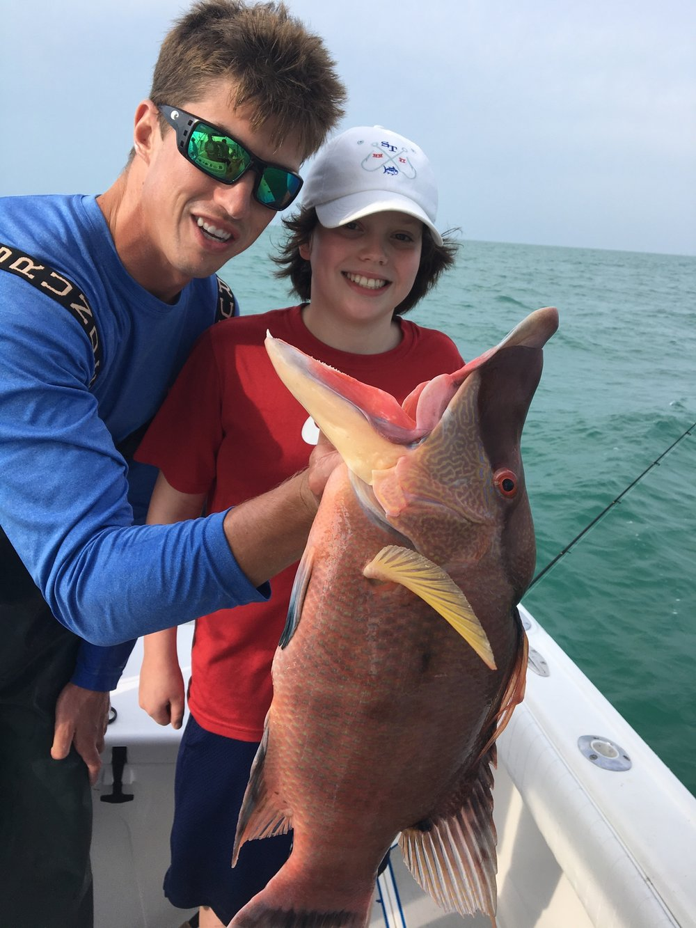 Hogfish-fishing charter-bottom fishing-deep sea fishing-fishing charter-charter fishing-naples-bonita springs