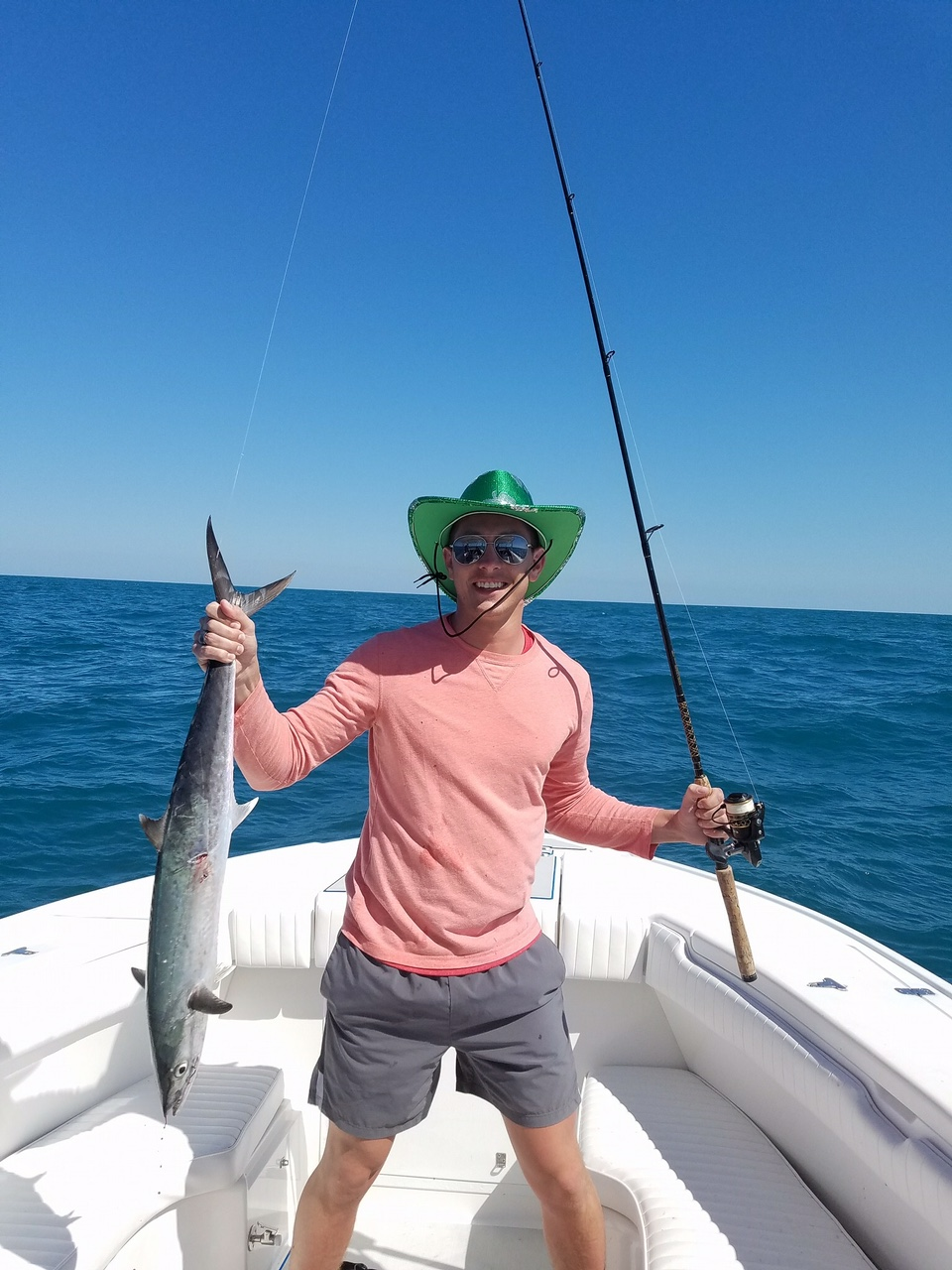King Mackerel-Family Fishing-Naples-Bonita Springs-Fort Myers Beach-Best Fishing Charter-Charter Boat-Florida