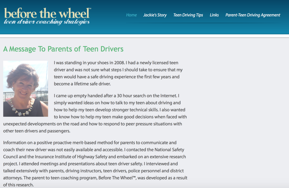 Before the Wheel - Teen Driver Coaching Strategies