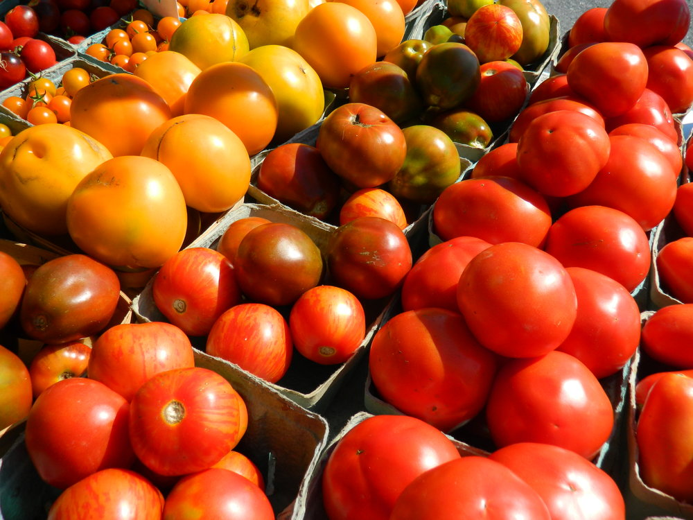 TOMATOES - Heirloom, Cherry, Slicer, Roma