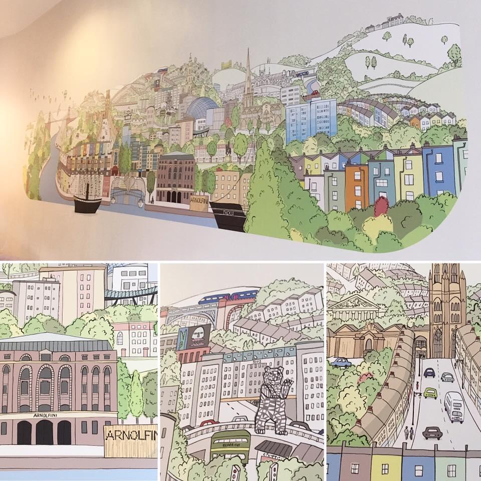 """My Bristol"" mural"