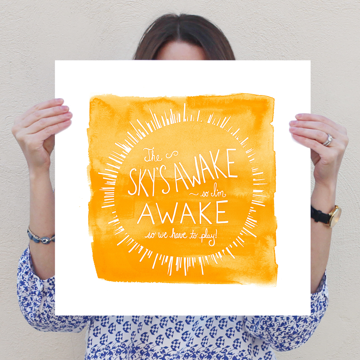 Letter19Design_TheSkysAwake_Print_16x16A