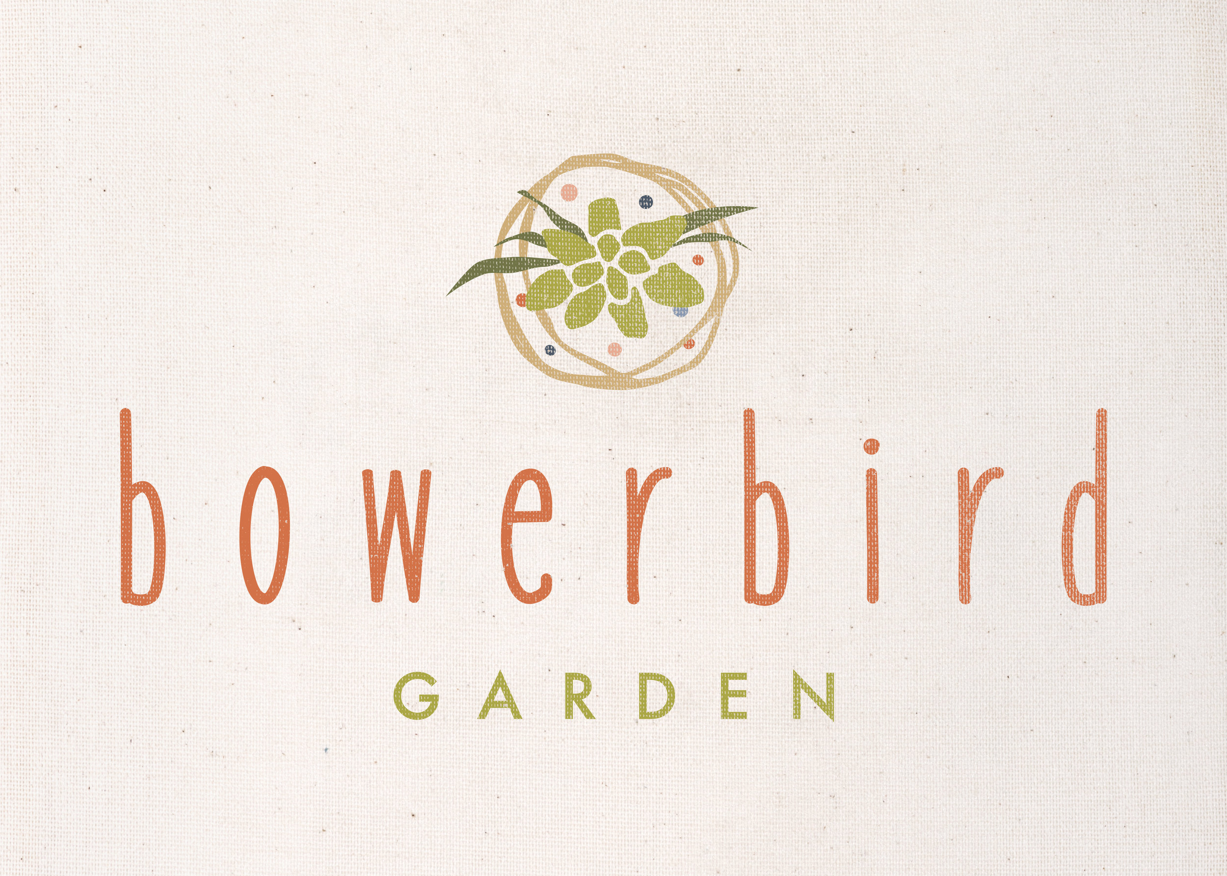 bowerbird garden logo
