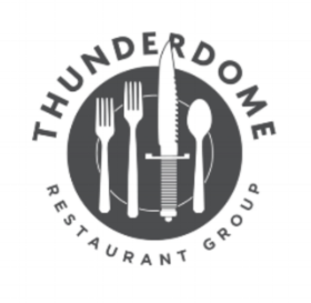 facebook: thunderdome restaurant group  twitteR: thunderdome group