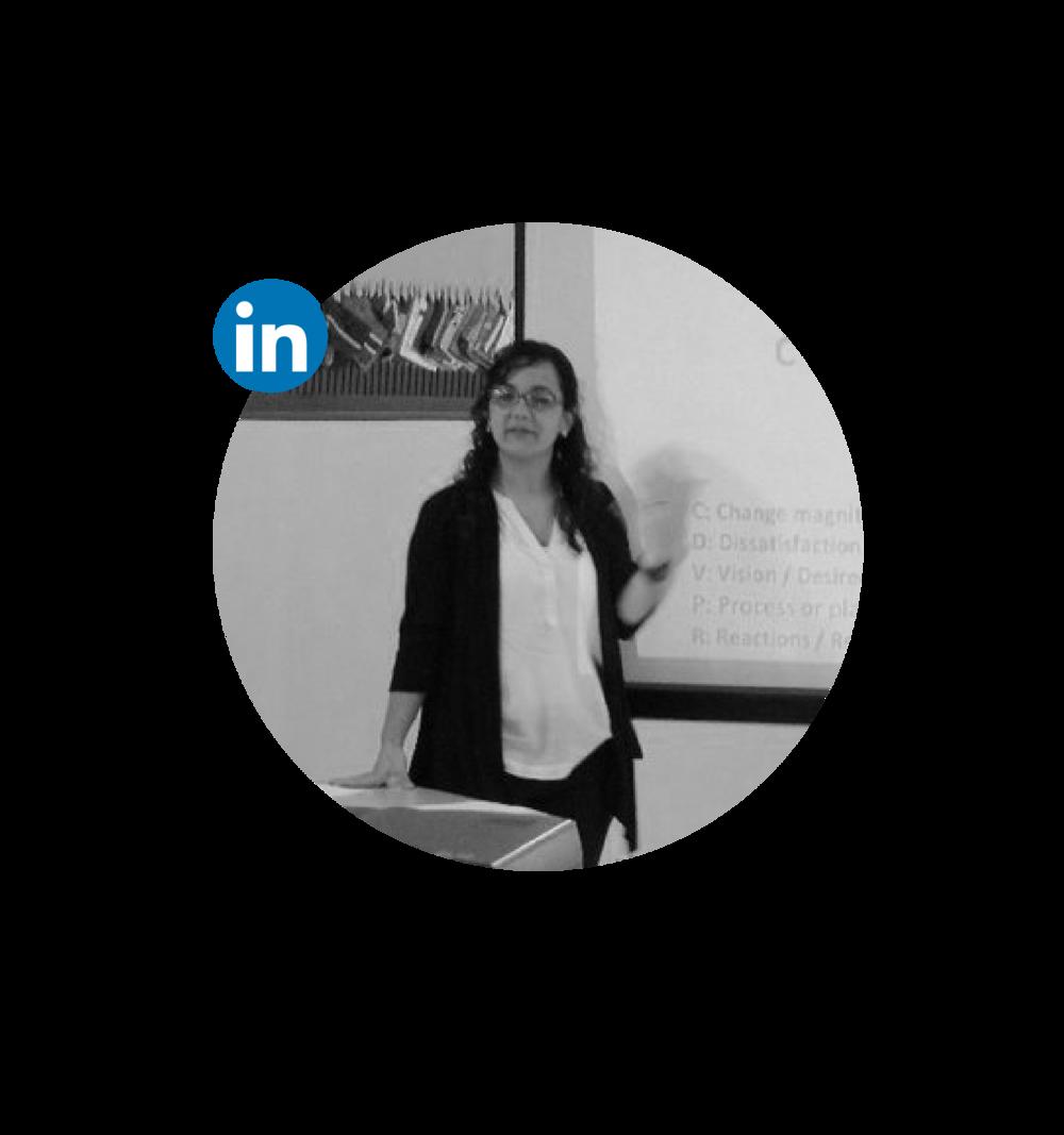 Mónica es licenciada en Educación y Maestra en Ciencias Sociales con orientación en Desarrollo Sustentable. Durante más de 10 años ha trabajado en proyectos educativos encaminados al desarrollo social, humano y comunitario. Cuenta también con experiencia el desarrollo de proyectos con perspectiva de género y de ciudadanía global.