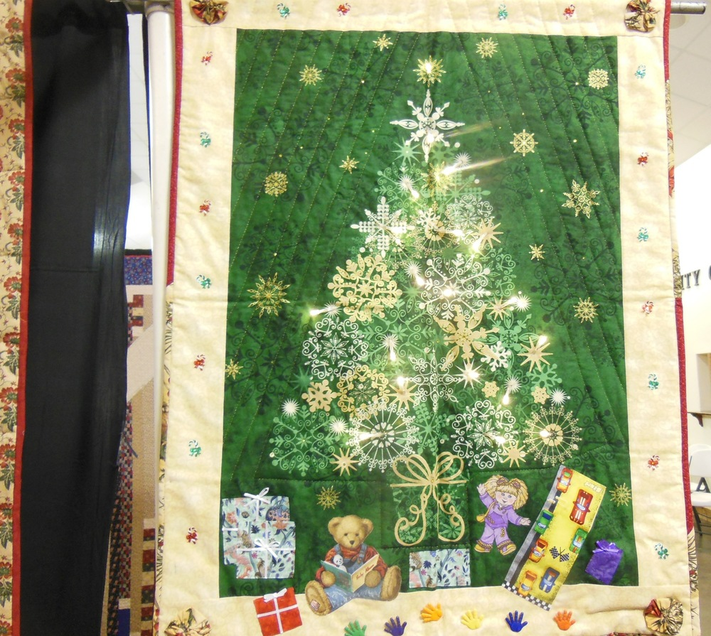 Christmas Tree Quilt Wall Hanging Made Just For U
