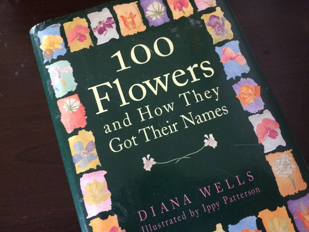 One of my favorite reads before going to bed, hard to beat drifting off thinking about flowers!