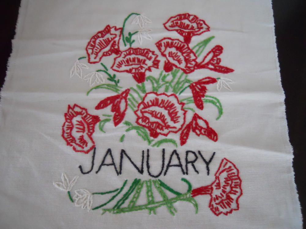 Have you seen these old-fashioned flower of the month quilts? i am making one for a customer.