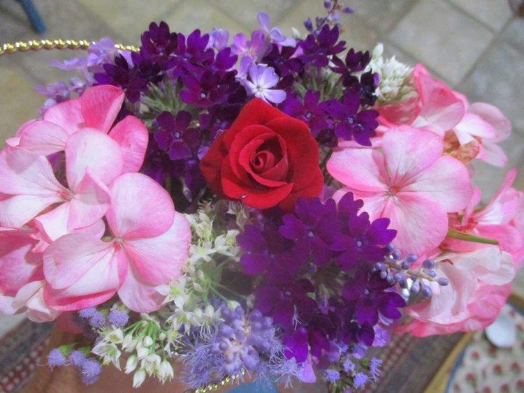 Basket Flowers — Made Just For U