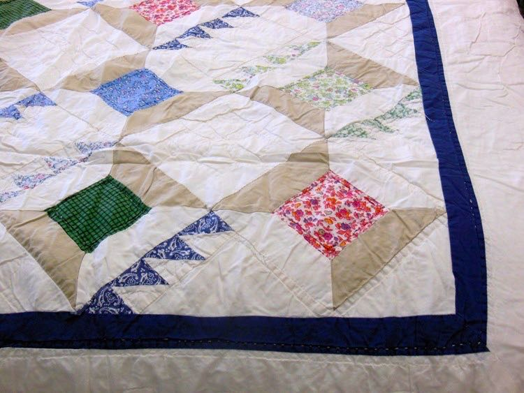 Vintage sewing spools quilt would be a nice addition. (Photo by Charlotte Ekker Wiggins)