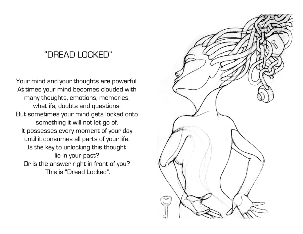 Dread Locked Sketch