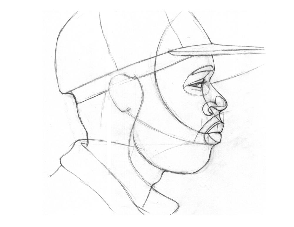 James DeWitt Sketch