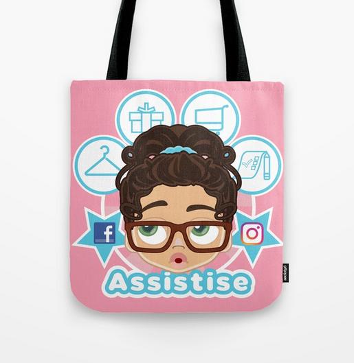 Assistise Tote Bag Design