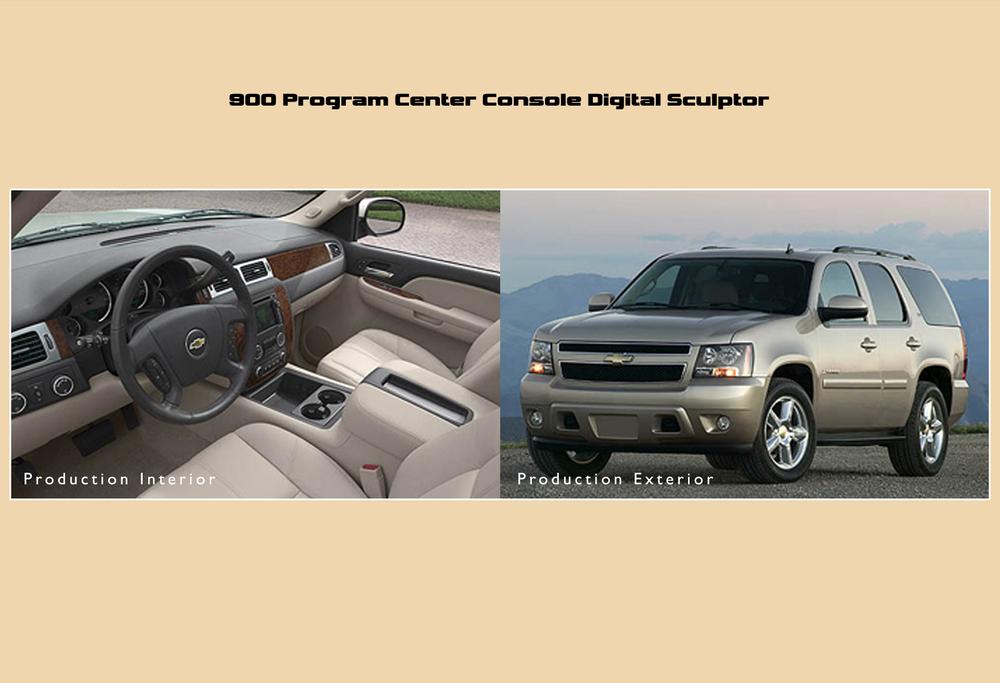 SUV Center Console