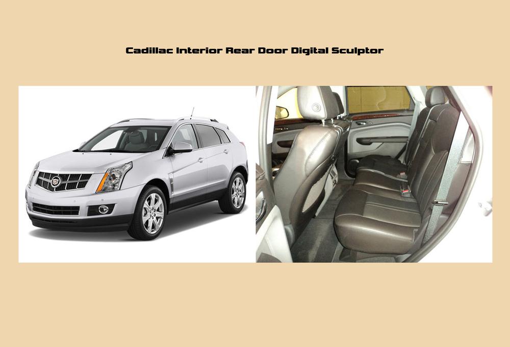 Cadillac SRX Interior Rear Door