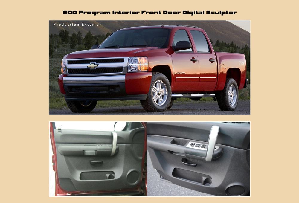 Full Size Truck Front Interior Door