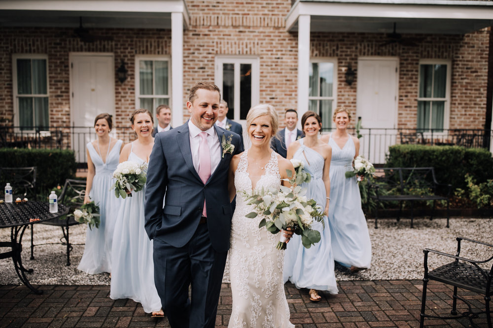 The Courtyard at The Beaufort Inn has many options to choose from for your wedding ceremony and reception.