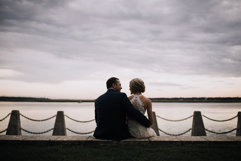 All of the Beaufort Inn properties are just steps from the waterfront which is perfect for capturing timeless moments.