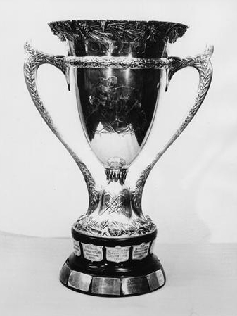 MACNAUGHTON CUP COURTESY OF MICHIGAN TECH ARCHIVES