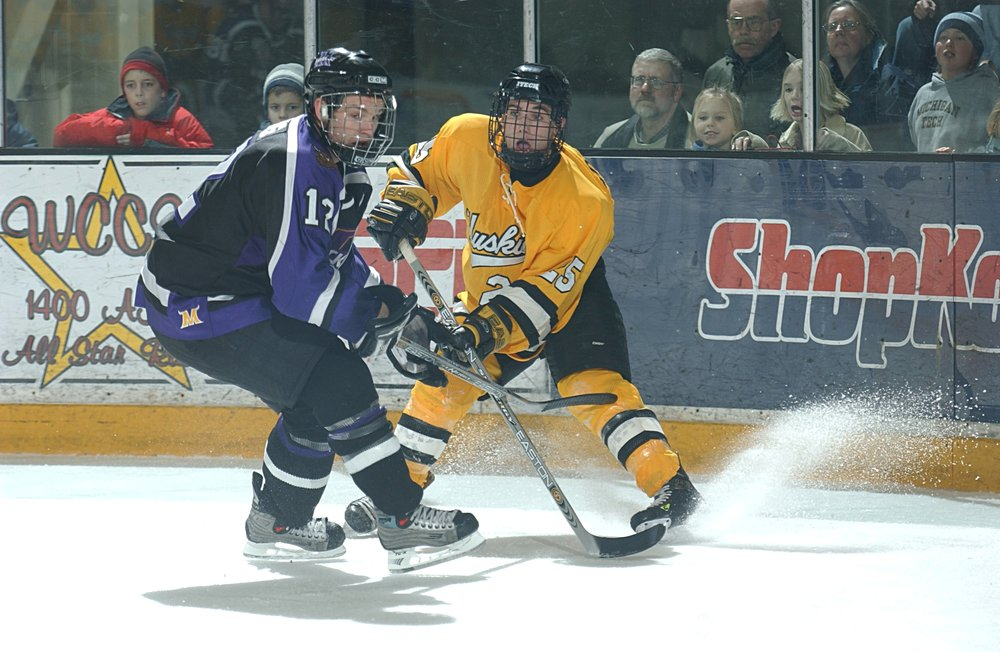 Speedster Chris Conner played two years in the NAHL (Photo courtesy of Michigan Tech)