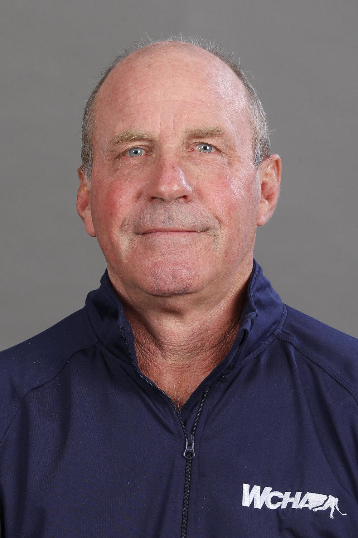 Greg Shepherd, WCHA Supervisor of Officials (Photo courtesy of Matt Hodson, WCHA).