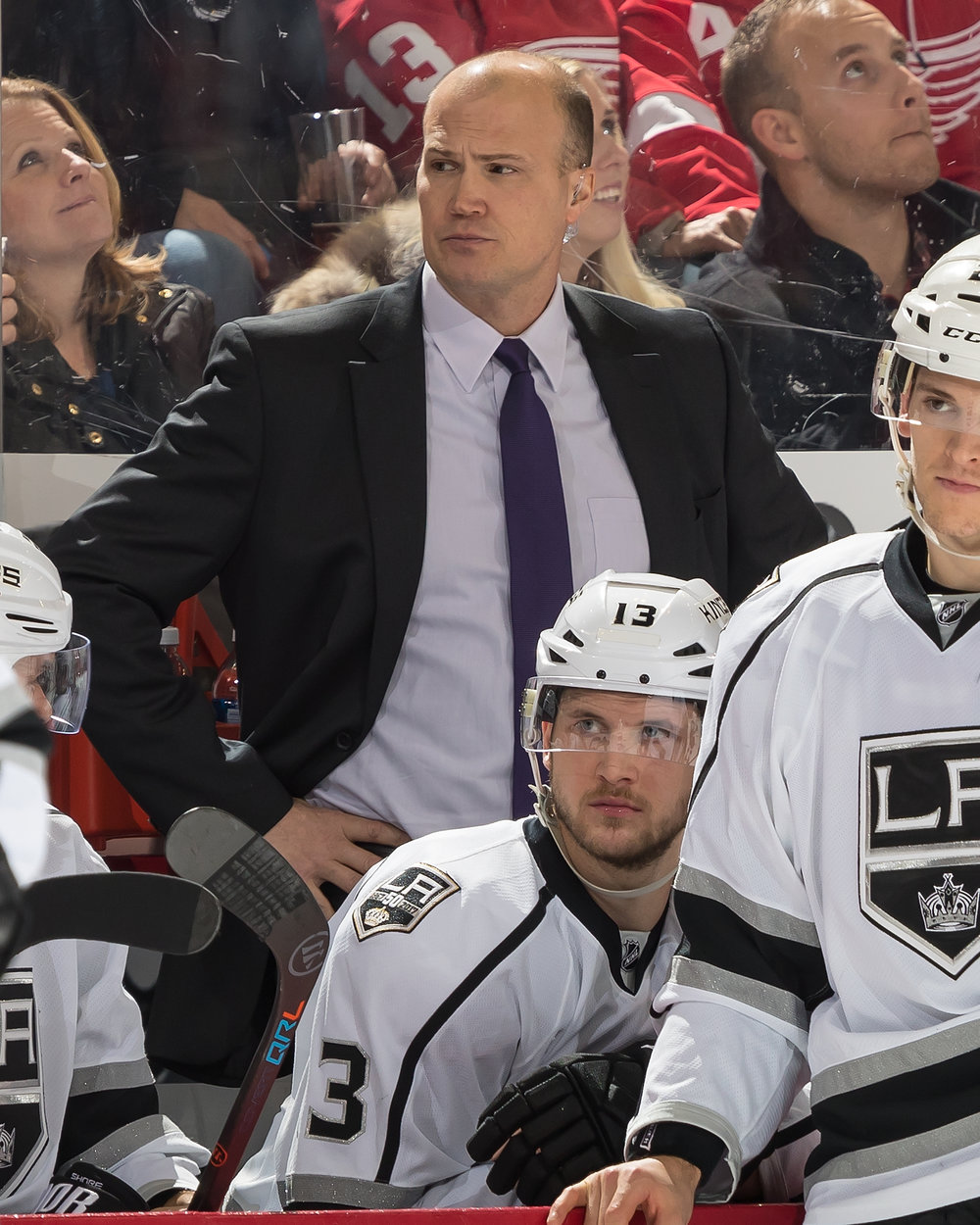 Davis Payne behind the bench - courtesy of Getty Images