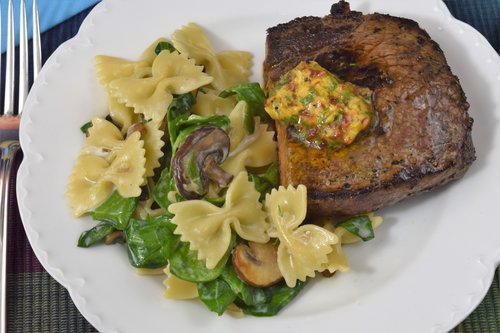 Steak Salmoriglio