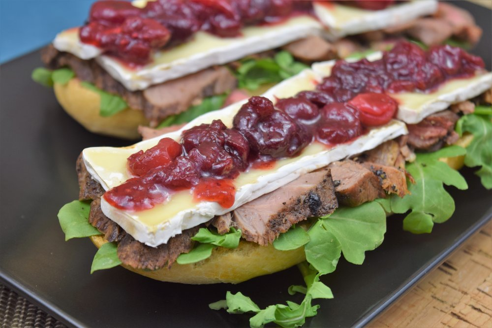 Steak and Brie Grinder with Cranberry Relish.JPG