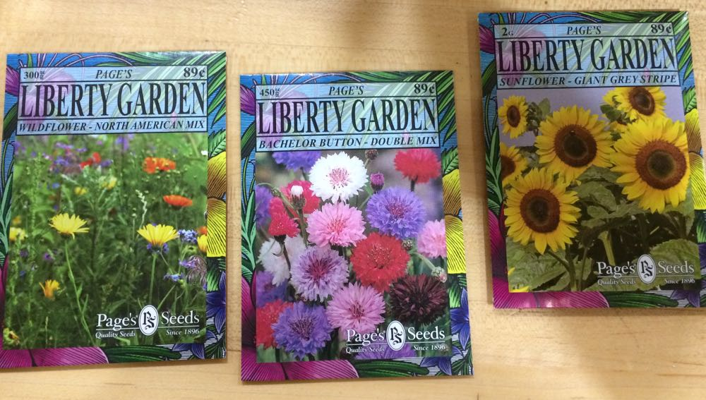 These three seed packets are my top recommendations for planting for bees.
