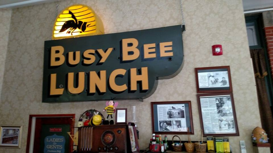 Inside the Busy Bee Restaurant in Buffalo, New York courtesy of my friend Mark, on a road trip.